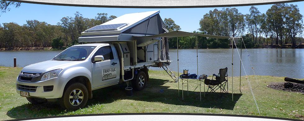 Australian Made Slide On Campers And Camper Trailers